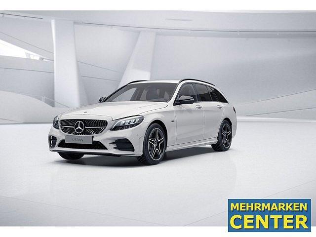 Mercedes-Benz C-Klasse - C 300 e T AMG Sport Night LED Navi SHZ Einparkh.