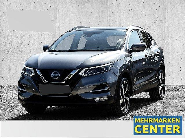 Nissan Qashqai - Tekna 1.2 DIG-T LED Panorama Navi 19'' Keyless Kurvenlicht Parklenkass. Rückfahrkam.