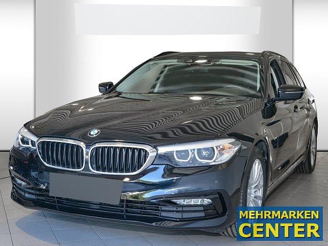 BMW 5er Touring - 540 d xDrive Sport Line-LED*Navi*StandHZG*Parklenkass.*Rückfahrkam.*AHK-klappbar