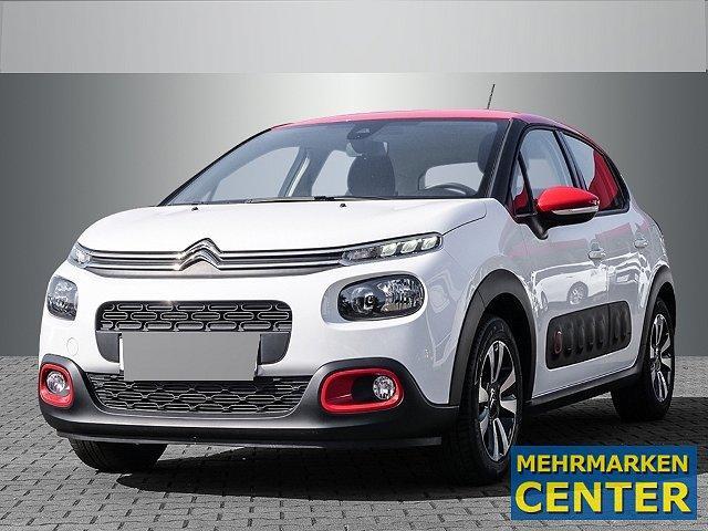 Citroën C3 - Shine 1.2 PureTech 82 83 LED-Tagfahrlicht Multif.Lenkrad RDC Klimaautom SHZ Temp