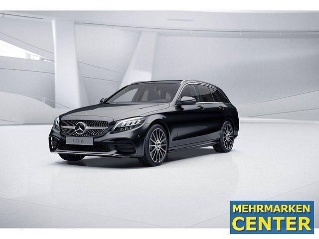 Mercedes-Benz C-Klasse - C 400 4M T AMG Sport Wide Burm Keyl Cam LED Pano