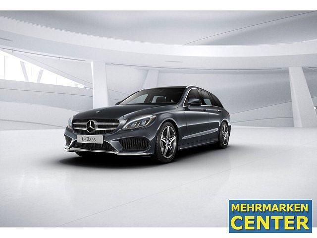 Mercedes-Benz C-Klasse - C 400 4M T AMG Sport AHK LED Pano Navi SHD Kamer
