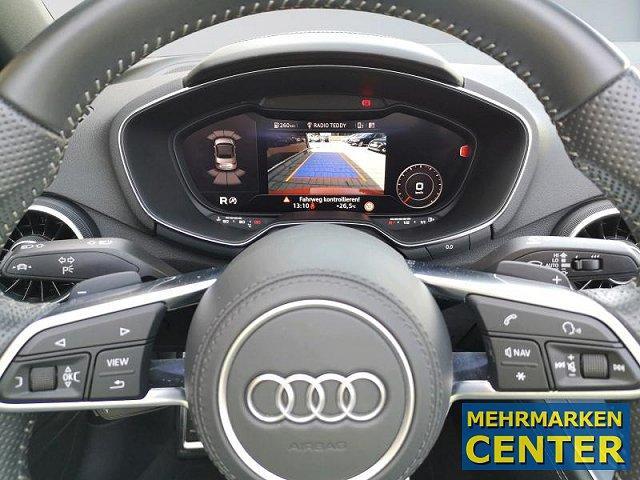 Audi TT Roadster 45 TFSI S-tronic S-Line 19 Leder LED Navi Keyless Kamera DAB Tempomat Sitze elek