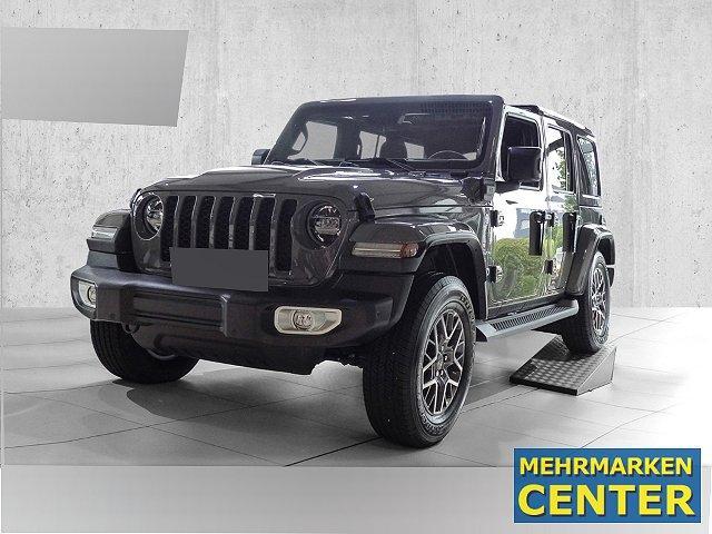Jeep Wrangler - Sahara 4xe Plug-In Hybrid Sicherheitspaket Leder Sitzheizung