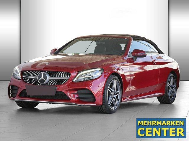 Mercedes-Benz C-Klasse - C 220 d Cabrio AMG Sport LED Navi Kamera SHZ Ein