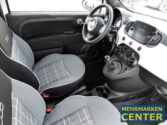 Fiat 500 Lounge 1.2 8V EU6d-T Multif.Lenkrad Knieairbag RDC Klima Temp PDC AUX USB MP3 ESP