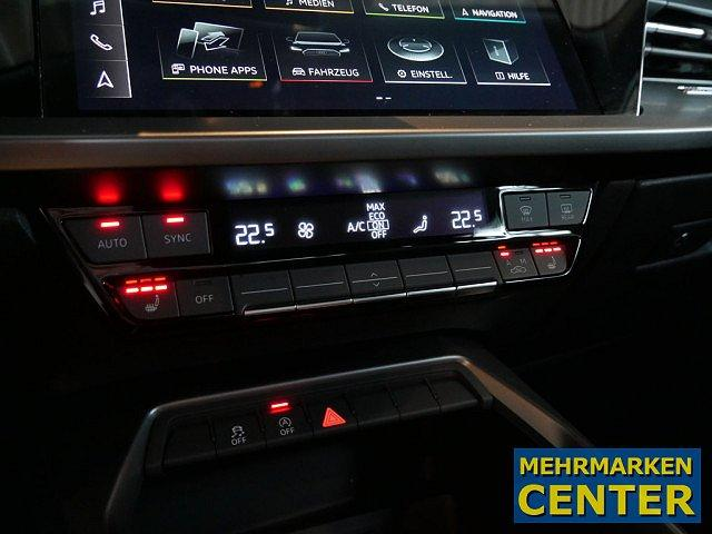 Audi A3 Sportback 35 TFSI S tronic LED Navi VC elektr