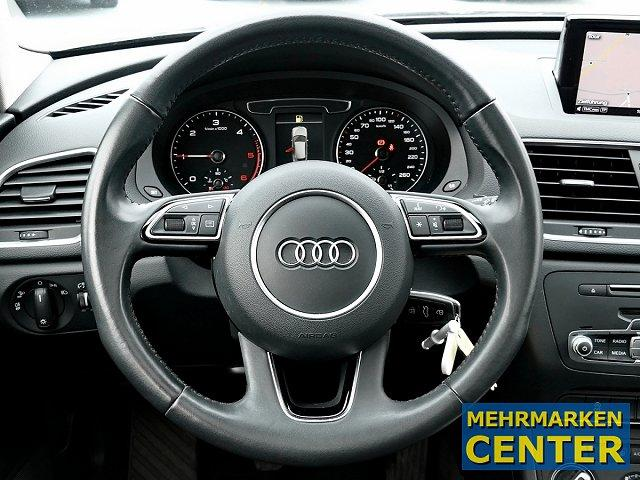 Audi Q3 2.0 TDI 6-Gang Glasd. Navi Led-Licht DAB+Pano