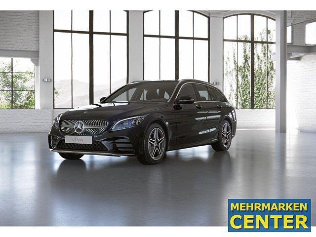 Mercedes-Benz C-Klasse - C 220 d T AMG Sport AHK LED Pano Navi SHD Kamera