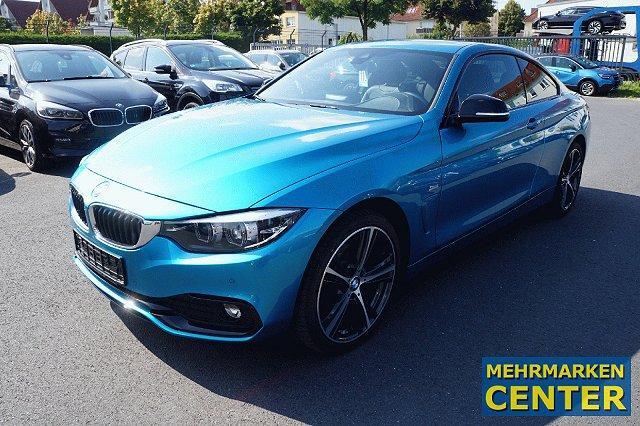 BMW 4er - 420 d xDrive Sport Line*Navi*HiFi*DAB*Leder*LED*