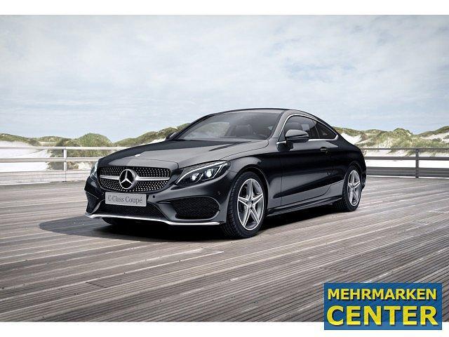 Mercedes-Benz C-Klasse - C 200 Coupé AMG Sport LED Navi SHZ Einparkh. Par
