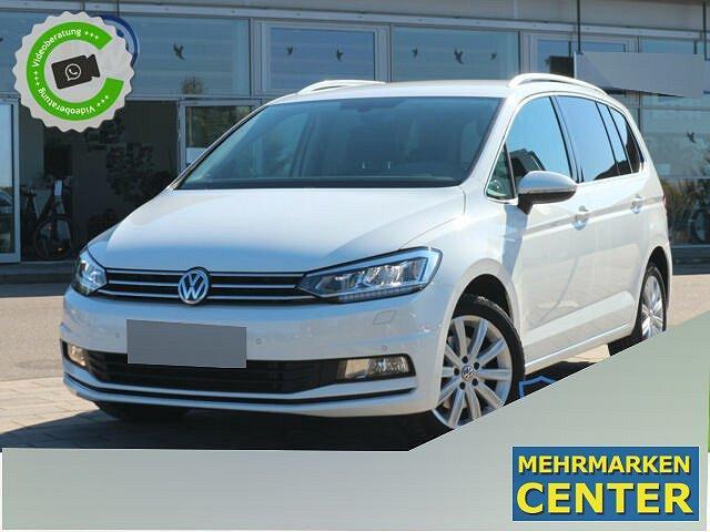 Volkswagen Touran - 2.0 TDI DSG HIGHLINE NAVI+LED+BLUETOOTH+e