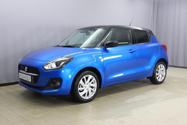 """Lagerfahrzeug Suzuki Swift - Premium Plus 1.2 61kW, Klimaanlage, Sitzheizung, 7"""" Touchscreen, AppleCarPlay & Android Auto, Rückfahrkamera, Lichtsensor, Nebelscheinwerfer, 16 Zoll Leichtmetallfelgen, uvm."""