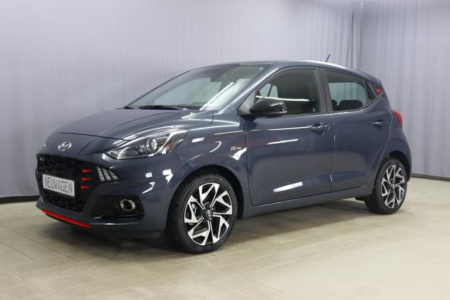 Hyundai i10 - N-Line 1.0 T-GDi 74kW, Klimaanlage, Sportlenkrad, 8