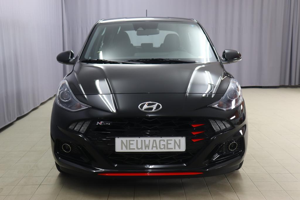 Hyundai i10 Twist N-Line T-GDI 1.0 74kWPhantom BlackStoff schwarz