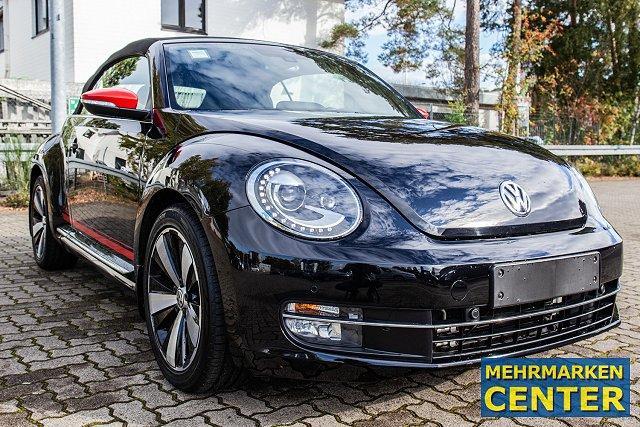 Volkswagen Beetle Cabriolet - CABRIOLET*CLUB*1.4 TSI*DSG*NAV/XEN/TOP-KM