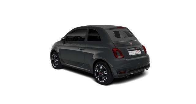 """Fiat 500C Hybrid Sport Sie sparen 4.680 Euro, 1.0 GSE 51kW 69PS, Klimaautomatik, Sportlederlenkrad, 7"""" HD Touchscreen, DAB Radio, Licht&Regensensor, PDC hinten, Nebelscheinwerfer, 16 Zoll Leichtmetallfelgen uvm."""