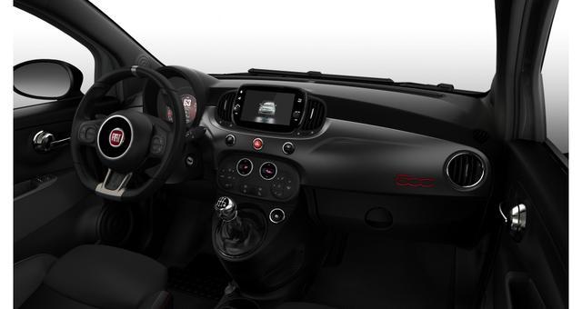 """Fiat 500C Hybrid Sport Sie sparen 4.870 Euro, 1.0 GSE 51kW 69PS, Klimaautomatik, Sportlederlenkrad, 7"""" HD Touchscreen, DAB Radio, Licht&Regensensor, PDC hinten, Nebelscheinwerfer, 16 Zoll Leichtmetallfelgen uvm."""