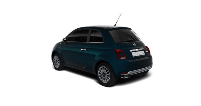 """Fiat 500 DOLCEVITA Sie sparen 3.970€ 1,0 GSE 70PS, Klimaautomatik, Tech Paket; Parksensoren hinten, Licht und Regensensor, Außenspiegel, Elektrisch Verstell- Beheizbar In Wagenfarbe, 15""""-Leichtmetallfelgen uvm"""