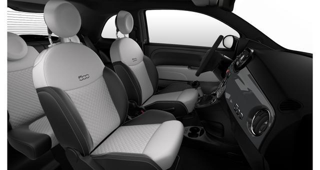 """Fiat 500 DOLCEVITA Sie sparen 4.310€ 1,0 GSE 70PS, Navigationssystem, Elektrisches Glasschiebedach, Klimaautomatik, Tech Paket; Parksensoren hinten, Licht und Regensensor, Außenspiegel, Elektrisch Verstell- Beheizbar In Wagenfarbe, 16""""-Leichtmetallfelgen uvm"""