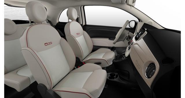 """Fiat 500 DOLCEVITA Sie sparen 4.700€ 1,0 GSE 70PS, DOLCEVITAPAKET, Voll-Leder, Sky-Dome, Navigation, Klimaautomatik, Tech Paket; Parksensoren hinten, Licht und Regensensor, Außenspiegel, Elektrisch Verstell- Beheizbar In Wagenfarbe, 15""""-Leichtmetallfelgen uvm"""