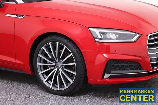 "Audi A5 Cabriolet 2.0 TDI S tronic Sport 3x line LED Kessy AHK Navi Windschott 19"""""