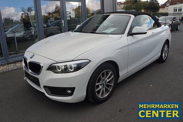BMW 2er - 218 i Cabrio Advantage*Navi*HiFi*LED*PDC*