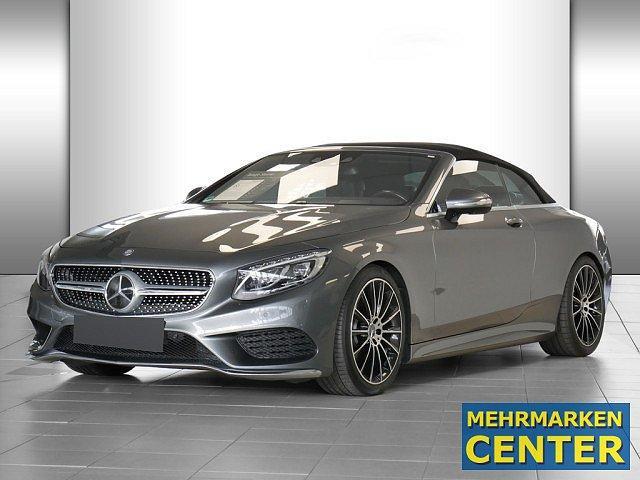 Mercedes-Benz S-Klasse - S 500 Cabrio AMG Sport PLUS Distr LED HUD Navi L