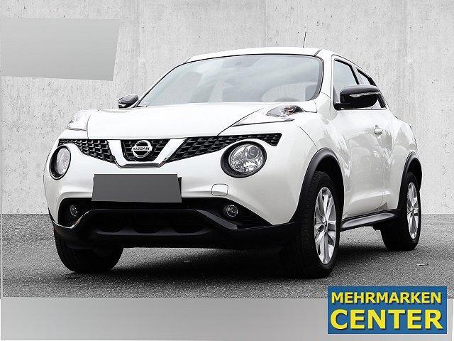 Nissan Juke - Acenta 1.5 dCi Navi Rückfahrkam. LED-Tagfahrlicht Multif.Lenkrad RDC Klimaautom