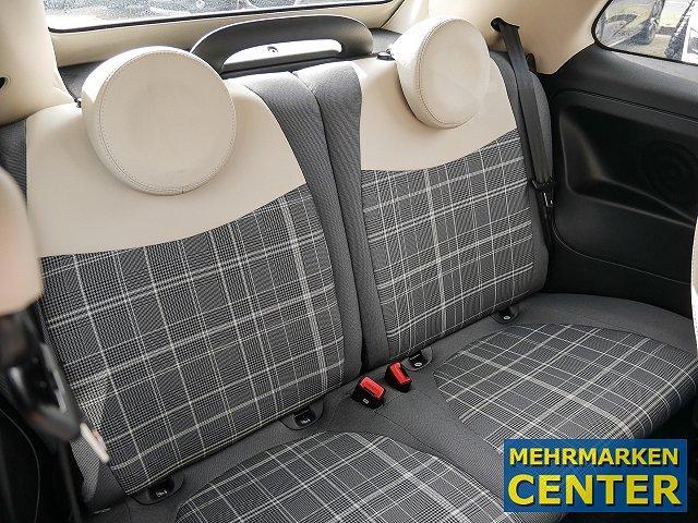 Fiat 500C Cabrio Lounge 1.2 8V Navi Multif.Lenkrad Knieairbag RDC Klimaautom Temp PDC AUX