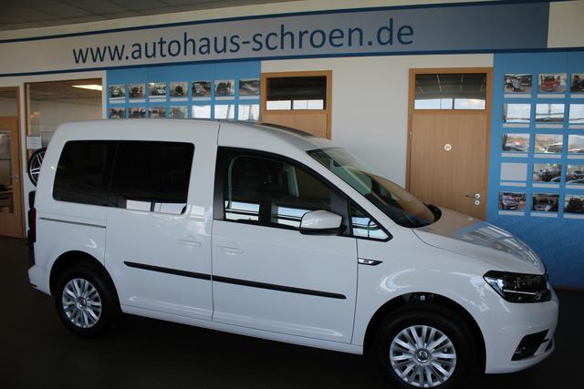 Volkswagen Caddy Conceptline bei EU-Autohaus Schrön