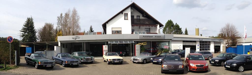 Autohaus Knoch Ihr kompetenter Partner für Mercedes Old & Youngtimer!