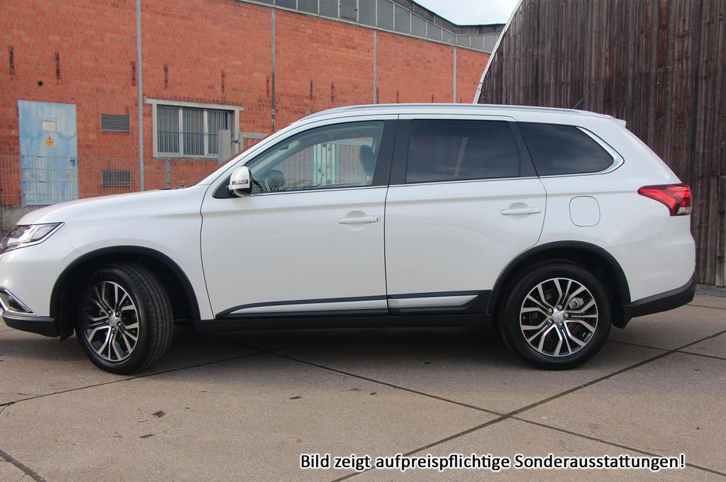 mitsubishi outlander 2016 top 7 sitzer led leder keyless navi winterpak und viele weitere. Black Bedroom Furniture Sets. Home Design Ideas