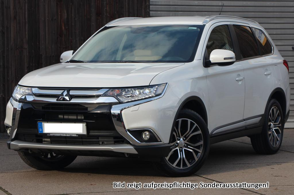 mitsubishi outlander my2017 top 7 sitzer led leder keyless navi winterpak und viele weitere. Black Bedroom Furniture Sets. Home Design Ideas