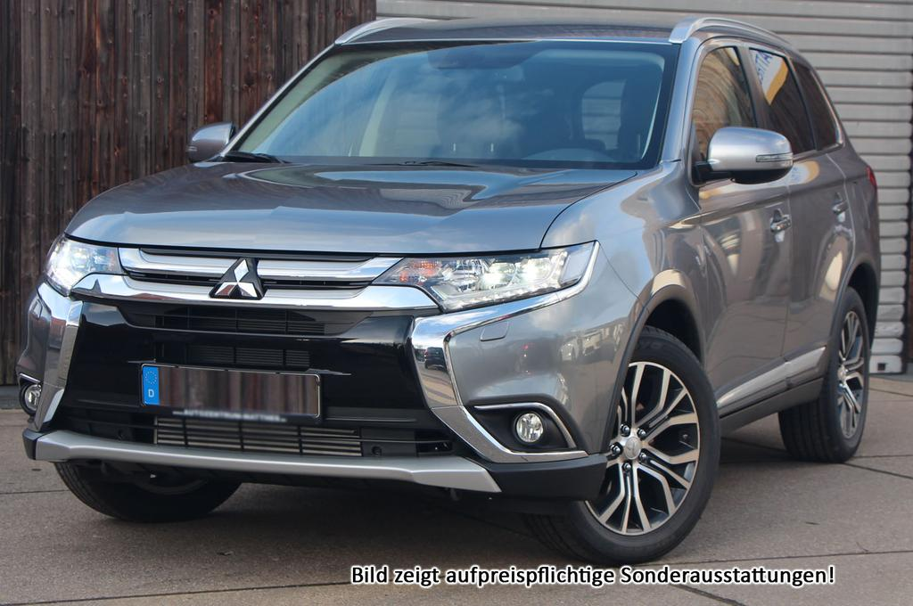 mitsubishi outlander executive edition 7 sitzer premiumaudio 18 led und viele weitere autos. Black Bedroom Furniture Sets. Home Design Ideas