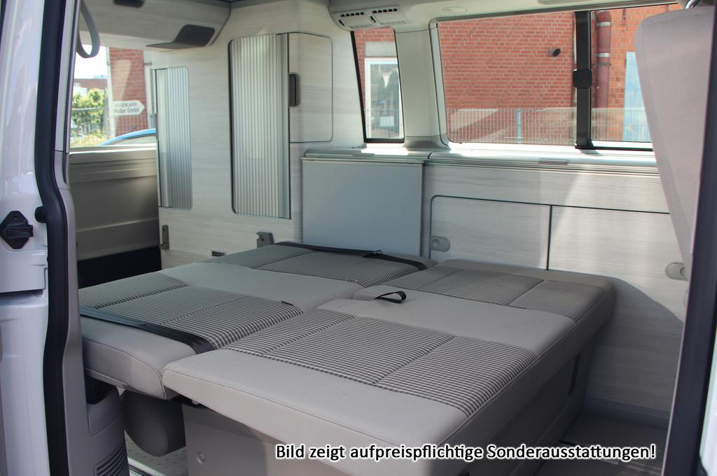 volkswagen t6 california coast k che dachbett und viele weitere autos als neuwagen eu. Black Bedroom Furniture Sets. Home Design Ideas