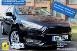 "Ford II Focus Turnier - Titanium :Winterpak  Privacy  LED  Sync  17""Alu  Klimaauto"