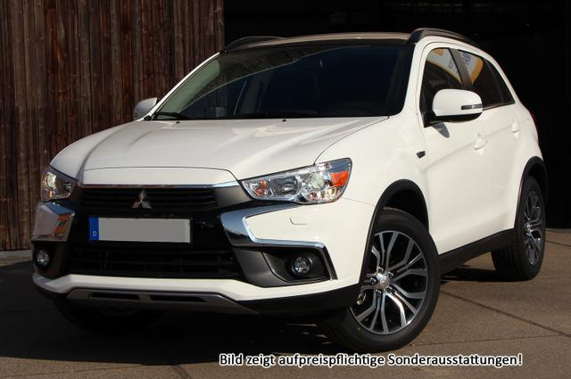 Bestellfahrzeug, konfigurierbar Mitsubishi ASX - Connect Pro  :NEU EURO6d-TEMP  Leder  Xenon  Handy-NAVIGATION