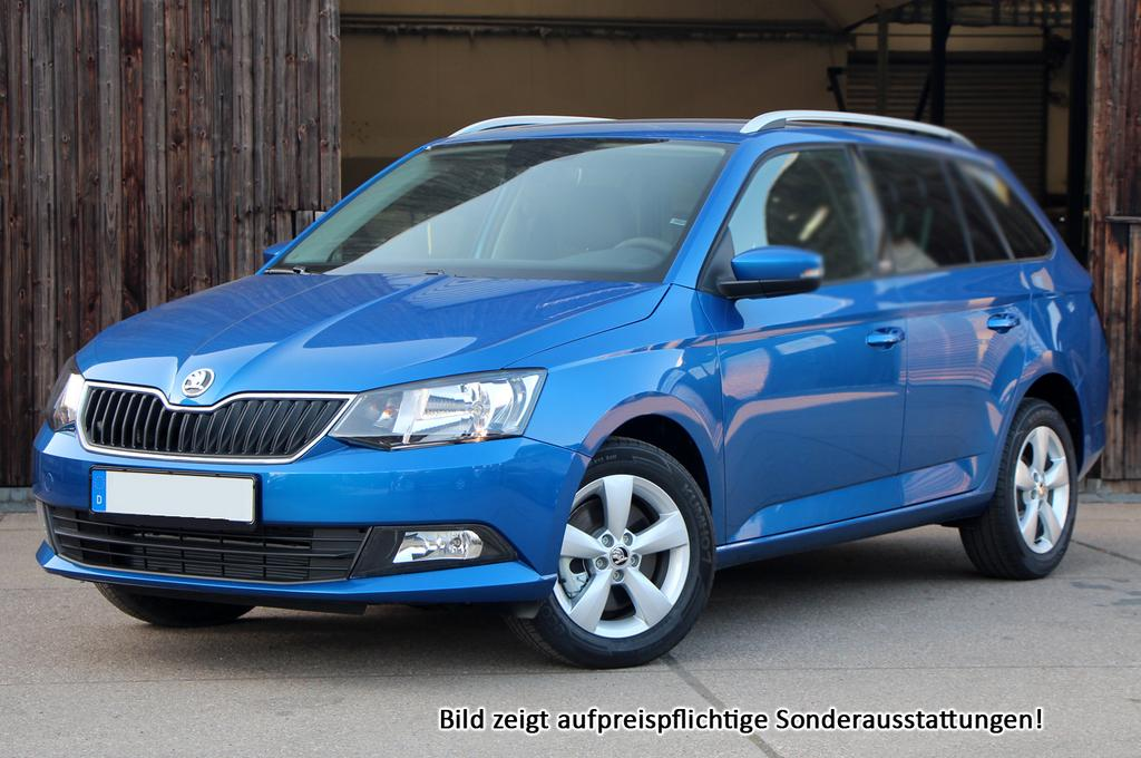 skoda fabia kombi ambition radioblues chrompaket nebelschw und viele weitere autos als. Black Bedroom Furniture Sets. Home Design Ideas