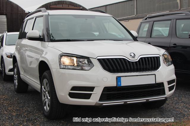 """Skoda Yeti - AZM Style Edt.:SOFORT+ Parkhilfe v/h+ WinterPak+ Klimaauto+ 16""""A Gebrauchtfahrzeug"""
