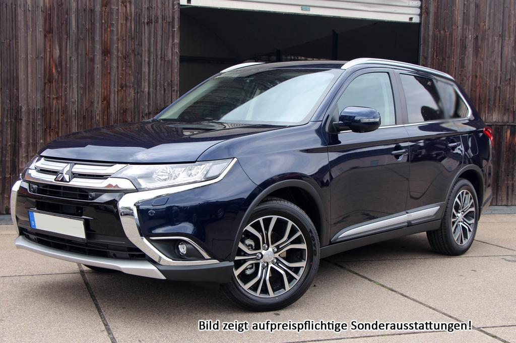 mitsubishi outlander top 7 sitzer led leder keyless winterpak und viele weitere autos als. Black Bedroom Furniture Sets. Home Design Ideas
