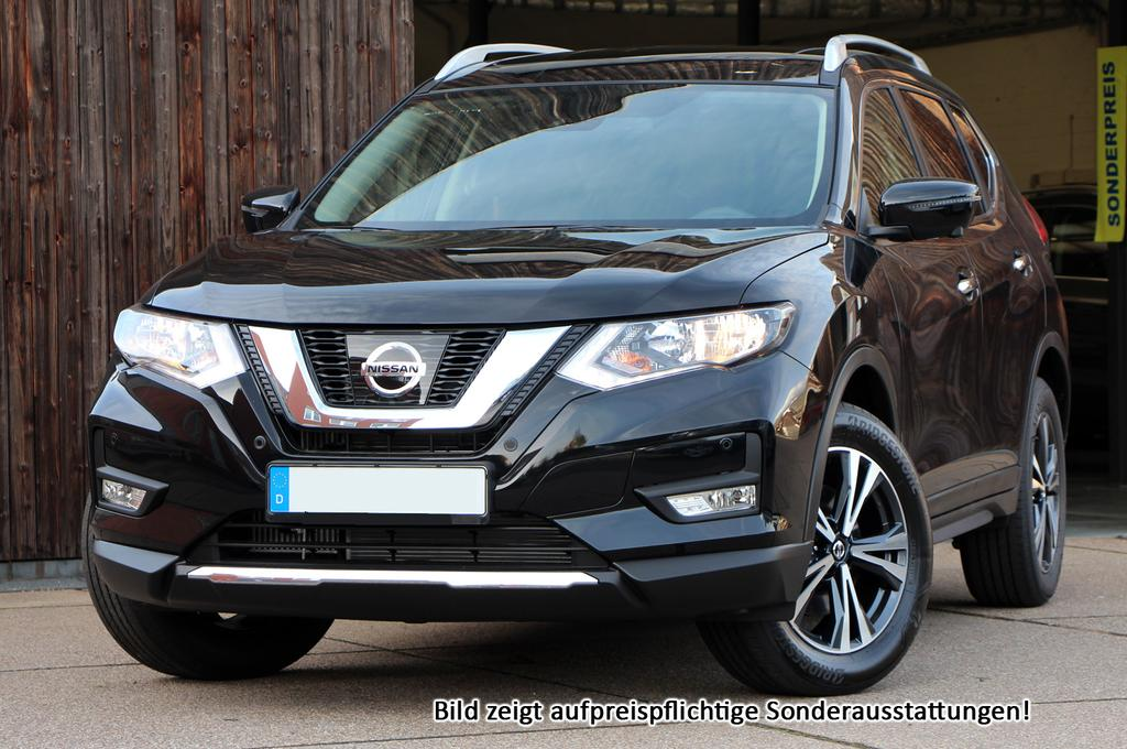 "nissan x-trail tekna :neu+ leder+ safetyshield+ bose+ 19""+ full led"