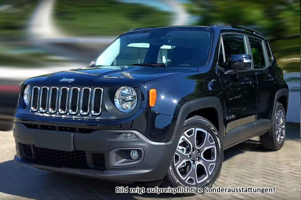 jeep renegade limited parkhilfe klimaauto 17 alu tempomat radio und viele weitere autos. Black Bedroom Furniture Sets. Home Design Ideas