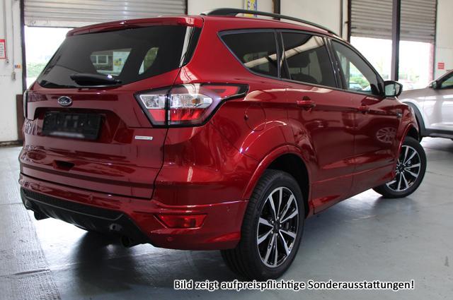 Ford Kuga ST Line :SOFORT+ NAVI+ LEDER+ 5J Garant+ Elektr. Heck.+ ParkAsst Winter Paket mit beheiz. Front+ Keyless+ Privacy Glas