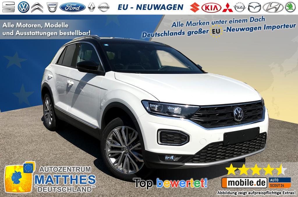 Volkswagen T Roc Aktion Style Neu Euro 6d Temp Handy Navigation