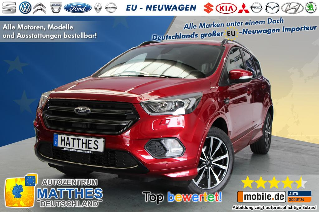 ford kuga st line sofort navi leder 5j garant elektr. Black Bedroom Furniture Sets. Home Design Ideas