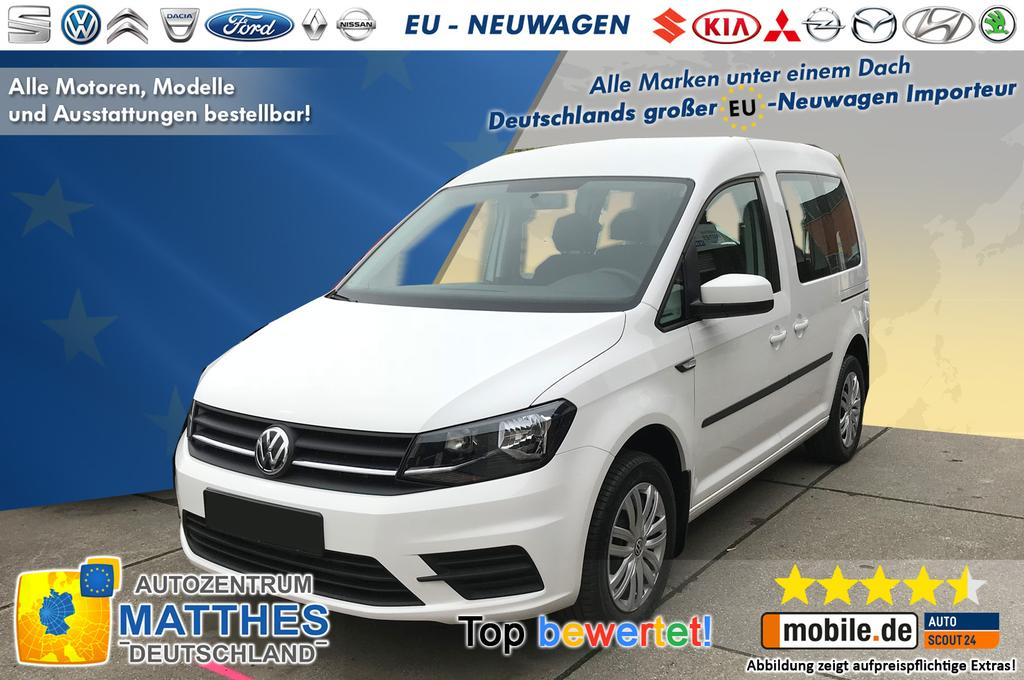 volkswagen caddy highline neu euro6d temp und viele. Black Bedroom Furniture Sets. Home Design Ideas