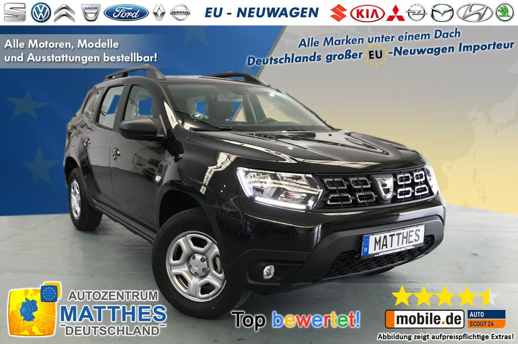 dacia duster my18 comfort neu 2018 klima radio. Black Bedroom Furniture Sets. Home Design Ideas