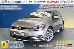 """Volkswagen Golf (5 Türer) - AZM Highline Edt.: SOFORT  LED  ACC  PDC v/h  HANDY-NAVIGATION 16"""" ALU-FELGEN 2-ZONEN-KLIMAAUTOM."""