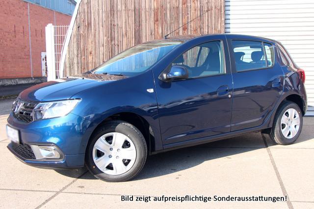 Vorlauffahrzeug Dacia Sandero - Laureate: Klima  Radio  Bluetooth  MuFuLenkrad  ZV